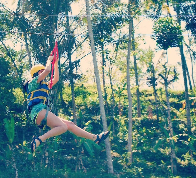 Flying Fox Bali