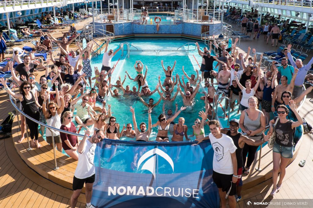 Nomad Cruise - digital nomad event 2017